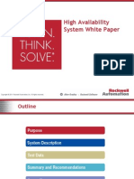 High Availability System White Paper External