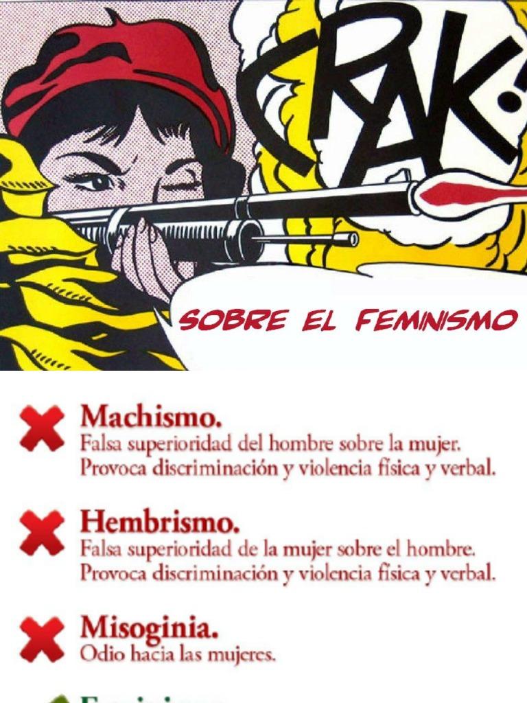 Sobre El Feminismo e6ddc086430