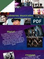 generos musicales y sus representantes