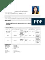 CV of KAMRUNNAHAR.doc