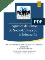 Apuntes Del Curso de Socio-Cultura de La Educación