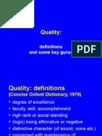 Quality Gurus by Ankur Ojha