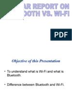 Wifi vs Bluetooth