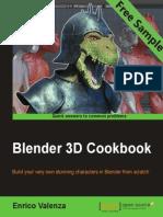 Blender 3D Cookbook - Sample Chapter