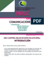 HDLC-CONTROL DE ENLACE DE DATOS DE ALTO NIVEL