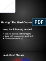 "Having the ""Hard Conversation"""