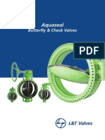 L&T Aquaseal Butterfly Check Valves