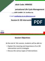 HRM502 8 OD Interventions