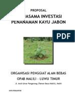 PROPOSAL Investasi Jabon