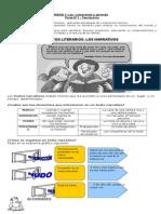 Quinto básico - Tipos de texto. Narrativo, argumentativo, descriptivo, etc..doc