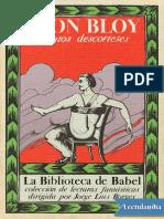Cuentos Descorteses - Leon Bloy
