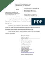 TimeBase Pty Ltd. v. Thomson Corporation, The et al - Document No. 18
