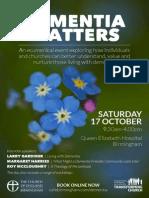 dementia matters flyer