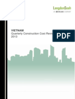 Construction Cost for Vietnam 2013