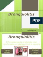 Bronquiolitis y Neumonia