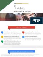 Mobile App Marketing Insights