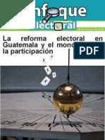 La Reforma Electoral en Guatemala y... - Enfoque Electoral No. 5