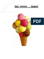 Themalijst ijsjes