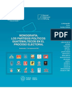 Monografía de los Partidos Politícos - ASIES 2011-1