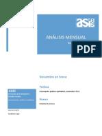 Análisis Mensual, Política en Breve - ASIES, Noviembre 2011
