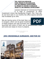 upcoming Commercial Projects on Dwarka Expressway