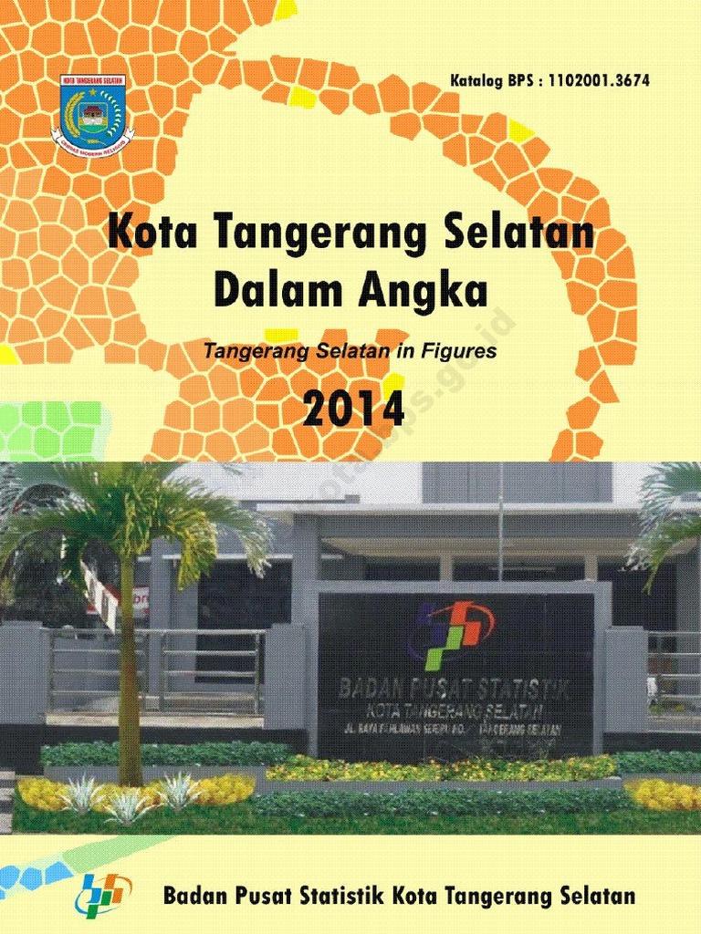 Kota Tangerang Selatan Dalam Angka 2014 d8dd8f81fa