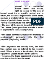 Leasing Basic Concepts
