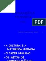 2.010 a Cultura e a Natureza Humana (Prof. Renato Cabral)