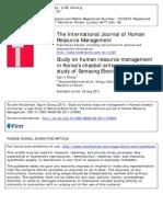 Study on human resource management. A case study of Samsung Electronics.pdf
