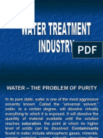 Water – the Problem of Purity