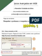 Slides-Módulo 1 - Tópicos Avançados em WEB (antigo ICC)