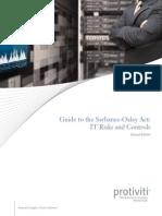 Guide to SOX IT Risks Controls Protiviti