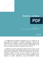 Diseño y Cultura