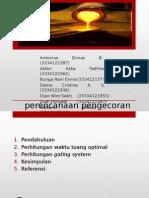 PPT Perencanaan Pengecoran (1)