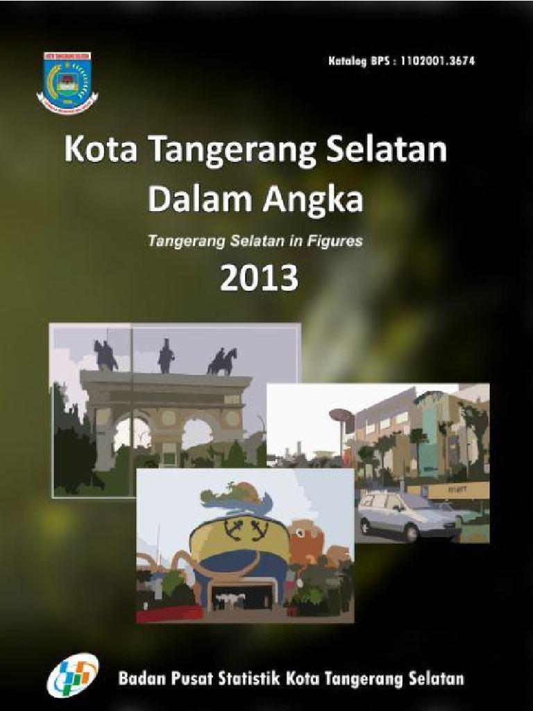 Kota Tangerang Selatan Dalam Angka 2013 7baf6fc673