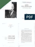 Francesco Carnelutti - Arte Del Derecho - Seis Meditaciones Sobre El Derecho - 1948