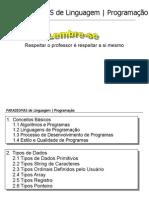 Paradigma de Linguagem / Programação