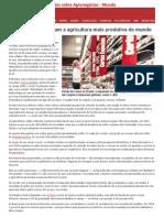 Textos Sobre Agronegócio e Mercado Mundial.2015