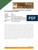 Estudio Ecográfico de Las Lesiones Mamarias No Neoplasicas