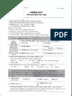 Application Visa Korea