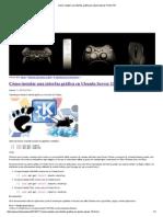 Interfaz Grafica Ubuntu Server 12.04