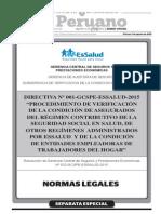 Separata Especial Boletín 07-08-2015 Normas Legales TodoDocumentos.info