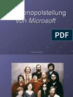 Die Monopolstellung Von Microsoft
