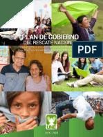PlanDeGobierno UNE 2015