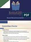 Rockwall ISD Bond Planning Committee