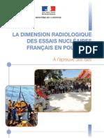La Dimension Radiologique Des Essais Nucleaires Francais en Polynesie
