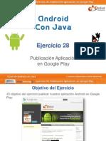 Curso Android - Ejercicio 28