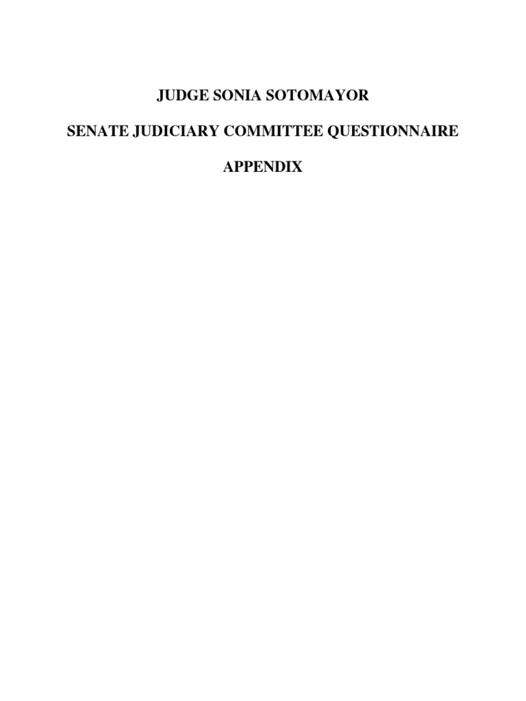 Lilley Tile And Stone Llp 09-06-04 us senate judiciary committee: then circuit judge