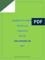 vcvxcPoetry Elements