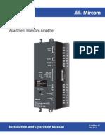 Mircom MA-485A User Manual